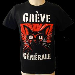 DROOKER Grève Générale t-shirt unisexe