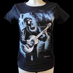 DROOKER Troubadour t-shirt féminin en coton bio équitable