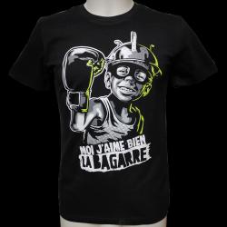 RNST Bagarre t-shirt masculin en coton bio-équitable
