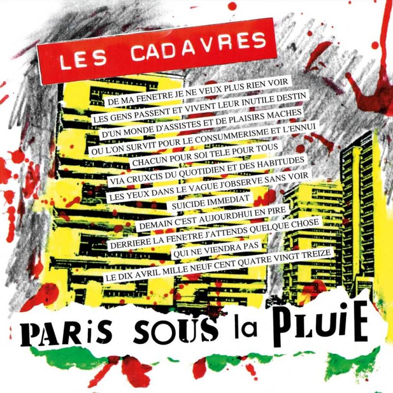 LES CADAVRES Paris Sous La Pluie  CD