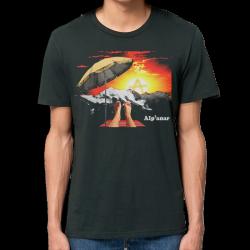 ALPANAR t-shirt taille masculine en coton bio-equitable