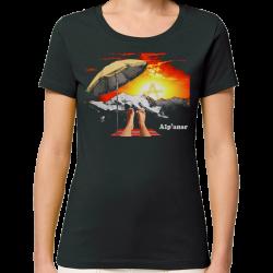 ALPANAR t-shirt taille feminine en coton bio-equitable