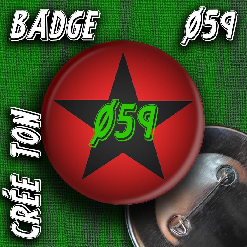 BADGE Ø59mm