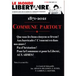 LE MONDE LIBERTAIRE N°1828...