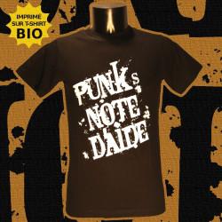 Punk's Note d'Aide - T-Shirt bio - Homme
