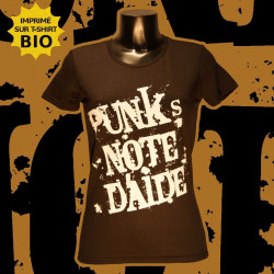 Punk's Note d'Aide - T-Shirt bio - Femme