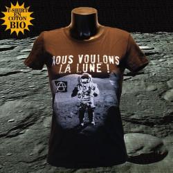 Nous voulons la Lune - t-shirt bio femme - Photo