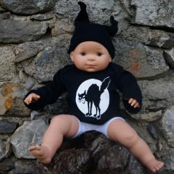 Chat Noir, top bébé bio, photo