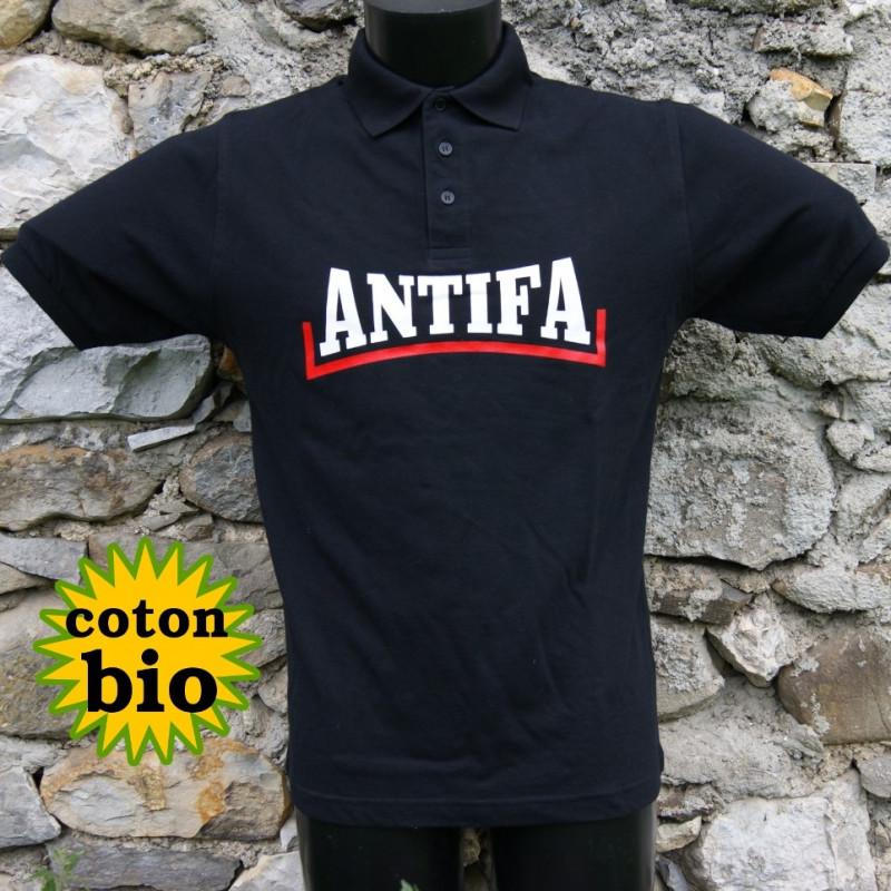 Antifa, polo bio homme
