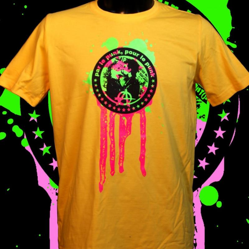 PPPP, t-shirt bio jaune- Homme