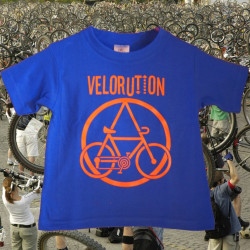 Velorution, t-shirt enfant