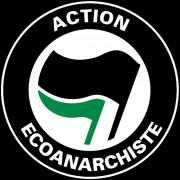 Clochtard Crasvat - Vêtement Punk, rock et anarchiste - Visuel Action Ecoanarchiste