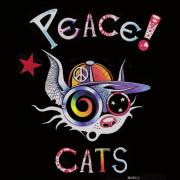 Anartisanart - Les mauvais garçons font bonne impression - PEACE CATS création de COSMIX MAT