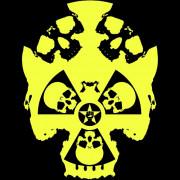 Clochtard Crasvat - Anartisanat Punk, rock et anarchiste - Visuel Fuckushimaskull