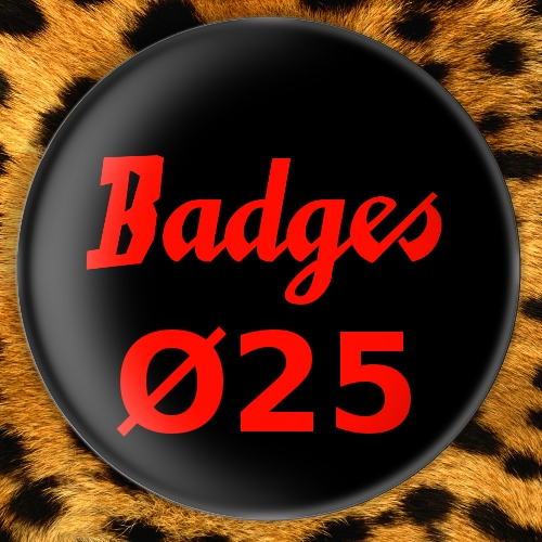 Badges Ø25mm