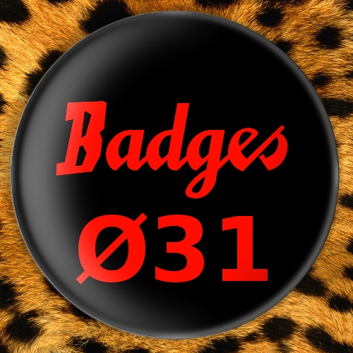 Badges Ø31mm