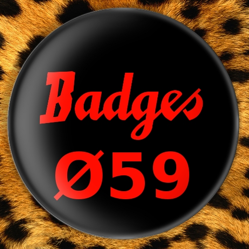 Badges Ø59mm